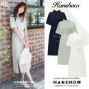 Dress Summer 2020 Apricot, Navy, khaki S,M,L,XL Mid length dress singleton  Short sleeve commute Polo collar Loose waist Solid color Three buttons A-line skirt routine Others 18-24 years old Korean version Lace up, button 318#