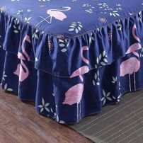 Bed skirt 120cmx200cm, 150cmx200cm, 180cmx200cm, 200cmx220cm and 180cmx220cm cotton Other / other Plants and flowers Qualified products