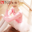 Children's performance clothes Light snow green, pink female 120cm,130cm,140cm,150cm,160cm Love for dance Class B SQ01013-19 Ballet other Four, five, six, seven, eight, nine, ten, eleven, twelve, thirteen, fourteen