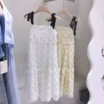 T-shirt White does not change, yellow does not change, m skirt length 106, bust 88, waist 74 M, L other 31% (inclusive) - 50% (inclusive)
