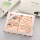 Bath towel Five piece gift box 80% polyester + 20% polyamide 400g