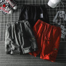 Casual pants Painting mountain dragon Youth fashion M L XL 2XL 3XL routine Pant Other leisure easy No bullet summer teenagers tide 2019 middle-waisted Straight cylinder Cotton 95% other 5% Overalls Pocket decoration Summer of 2019 Pure e-commerce (online only)