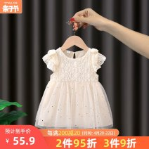 Dress Beige female Tongldanche / bike of the same age 80cm 90cm 100cm 110cm 120cm Other 100% summer princess Skirt / vest Solid color cotton A-line skirt FLY24 Summer 2021 12 months, 6 months, 9 months, 18 months, 2 years, 3 years, 4 years, 5 years, 6 years, 7 years, 8 years Chinese Mainland