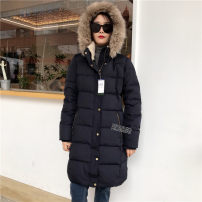 Down Jackets Winter 2020 Other / other S,M,L,XL White duck down 60% Medium length Long sleeves thickening Hood commute routine Solid color