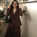 suit Autumn of 2019 Skirt (order within 48 hours), coat (order within 48 hours) S, M Long sleeves routine easy Single breasted commute routine lattice 18-24 years old