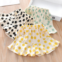 trousers Other / other female summer shorts princess No model Casual pants Leather belt middle-waisted cotton Don't open the crotch Cotton 85% others 15% Meng Bao 12 months, 18 months, 2 years old, 3 years old, 4 years old, 5 years old, 6 years old