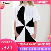 Dress Summer 2020 white S M L XL Mid length dress singleton  Short sleeve commute square neck High waist zipper other routine Others 25-29 years old Beautiful spring Simplicity 2002C054 More than 95% polyester fiber Polyester 97% polyurethane elastic fiber (spandex) 3% Pure e-commerce (online only)