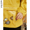 Plain coat gxg kids male 110cm 120cm 130cm 140cm 150cm yellow spring and autumn Socket There are models in the real shooting routine nothing other Polyester 100% other Autumn of 2019