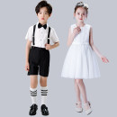 Children's performance clothes neutral 100cm 110cm 120cm 130cm 140cm 150cm 160cm 170cm 180cm Baiku glutinous rice Class B BKNM-0058 Cotton 50% polyester 50% Summer 2020