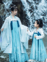 National costume / stage costume Winter of 2019 One children's dress and one children's dress 100,110,120,130,140,150 Zhong Ling Ji polyester fiber 96% and above