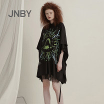 Dress Spring 2021 001 / Ben black 261 / grey Khaki 100 / Ben White 720 / mustard yellow XS S M L Mid length dress singleton  street middle-waisted other Socket other routine Others 25-29 years old Type H JNBY / Jiangnan cloth clothing 5K2502260-- 31% (inclusive) - 50% (inclusive) other silk