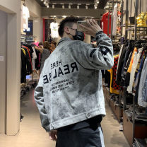 Jacket Key points Youth fashion grey M L XL 2XL easy Other leisure JY8171 Cotton 100% Autumn of 2019