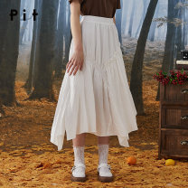 skirt Summer 2020 S M L white Short skirt commute High waist A-line skirt lattice Type A 25-29 years old 71% (inclusive) - 80% (inclusive) Pit (clothing) polyester fiber zipper Korean version Polyester 77.1% viscose 22.9% Same model in shopping mall (sold online and offline)