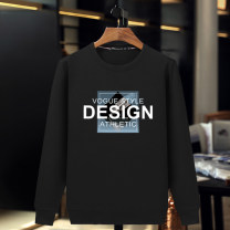 Sweater other Baogeheng 4XL 5XL 6XL M L XL 2XL 3XL other Socket routine Crew neck spring easy leisure time Large size American leisure routine BGHB34 Terry cloth Cotton 95% polyurethane elastic fiber (spandex) 5% cotton printing No iron treatment Spring of 2019 90% (inclusive) - 95% (inclusive)