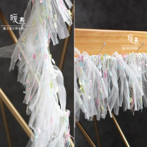 Fabric / fabric / handmade DIY fabric Others Bustling Secret lace (half meter price) sample 10cm Loose shear rice Others other Others Nuantai Colorful lace