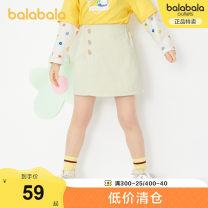 skirt 110cm 120cm 130cm 140cm Benbai Bala female Cotton 100% spring and autumn skirt princess Solid color A-line skirt cotton other Spring 2021