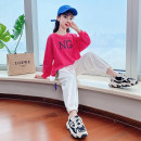 suit ZUOBINEN 110cm 120cm 130cm 140cm 150cm 160cm 170cm female spring and autumn leisure time Long sleeve + pants 2 pieces routine There are models in the real shooting Socket nothing Solid color cotton elder Expression of love ZBN2021012 Class B Other 100% Spring 2021 Chinese Mainland Huzhou City