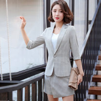 Professional dress suit Autumn of 2019 Long sleeves loose coat other 25-35 years old spandex