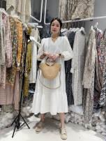 Dress Summer 2021 white Average size