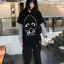 Parent child fashion A family of three neutral Tagkita / she and others No season solar system routine Solid color Finished T-shirt cotton L,M,S,XL,XS,XXL,XXXL Cotton 100% Class A S,M,L,XL,XXL Chinese Mainland
