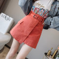 skirt Autumn of 2019 S M L XL 2XL Off White army green watermelon red black yellow Short skirt commute High waist A-line skirt Solid color 25-29 years old 8161ming40 More than 95% Qian Yuanqian other zipper Korean version Other 100% Pure e-commerce (online only)