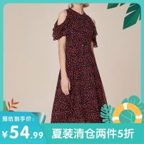 Dress Summer 2020 Black color S,M,L,XL singleton  Sleeveless commute Crew neck middle-waisted Socket other routine Others 25-29 years old Other / other Korean version 2LD092 More than 95% other