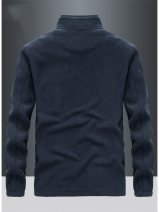 Jacket Other / other Fashion City Black, gray, royal blue, army green, black plush, gray plush, Royal Blue Plush, Army Green Plush thick easy Other leisure winter Polyester 100% Long sleeves Wear out stand collar American leisure youth routine Zipper placket Cloth hem washing Closing sleeve