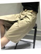skirt Spring 2021 M,L,XL,2XL Black, camel Middle-skirt commute High waist A-line skirt Solid color Type A 18-24 years old 51% (inclusive) - 70% (inclusive) brocade nylon Pocket, strap, stitching 161g / m ^ 2 (including) - 180g / m ^ 2 (including)