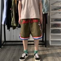 Casual pants other Army green M,L,XL Pant Other leisure easy tide Straight cylinder Overalls