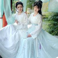 Hanfu 96% and above 165 155 160 170 polyester fiber