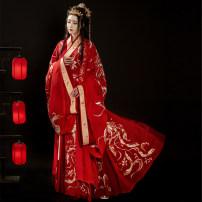 Hanfu 96% and above Autumn 2020 165 155 160 170 customized. Contact customer service to make customized polyester fiber
