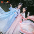 Hanfu 96% and above Summer 2020 165 one size 155 160 170 polyester fiber