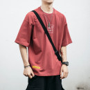 T-shirt Youth fashion Black, red, light blue, white, dark gray routine M,L,XL,2XL Others Short sleeve Crew neck easy daily summer XFT1014-0.35 teenagers routine tide other 2020 other other cotton other No iron treatment Non brand More than 95%