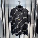 Polo shirt Peacebird Youth fashion routine Black b2dbb2188 S,M,L,XL,2XL easy Other leisure summer Short sleeve B2DBB2188 tide routine youth 2021 Alphanumeric printing