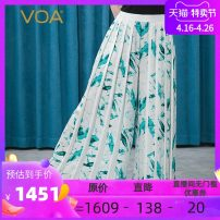 Casual pants Bluestone on white background (W3) 155/S 160/M 165/L 170/XL 175/XXL 180/3XL Autumn 2020 trousers Wide leg pants Natural waist street routine 30-34 years old 96% and above KE222 VOA silk Collage silk Mulberry silk 100% Pure e-commerce (online only) Europe and America