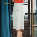 skirt Winter 2020 155/S 160/M 165/L 170/XL 175/XXL 180/3XL Snow White (w75) Mid length dress commute Natural waist other Solid color Type H 30-34 years old SC989 91% (inclusive) - 95% (inclusive) VOA other Three dimensional cutting of pocket literature Cashmere (cashmere) 95.2% wool 4.8%