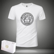 T-shirt Youth fashion routine Versace Short sleeve Crew neck Self cultivation daily summer Short sleeve-5688 Modal fiber (modal) 49.6% cotton 44.1% polyurethane elastic fiber (spandex) 6.3% teenagers routine tide other 2021 character printing modal  Figure pattern No iron treatment Fashion brand