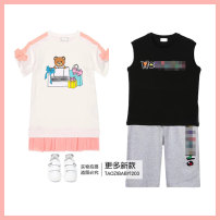 Vest currency Girl's dress, boy's Vest + shorts suit, run single pull black! No reason for not supporting seven days!! 90cm,100cm,110cm,120cm,130cm,140cm,150cm,160cm,165cm,170cm Other / other 2, 3, 4, 5, 6, 7, 8, 9, 10, 11, 12 years old