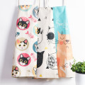 apron Two black-and-white cats, four black-and-white cats, love show off cat, sunglasses cat, orange cat Sleeveless apron antifouling Cartoon other Household cleaning Average size Cat apron Cartoon