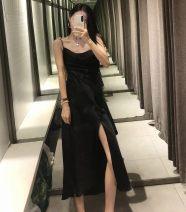 Dress Summer 2020 Black, blue, army green, peach, scarlet, rose pink XS,S,M,L TRAF