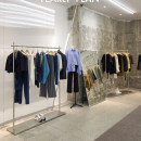 Clothing display rack Silver L1200 * W400 * h1650, silver L1500 * W400 * h1650, please contact customer service for silver customization clothing stainless steel Official standard 120x400x1650cm
