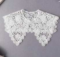 Scarf / silk scarf / Shawl Lace White, black spring and autumn female Shawl decorate Korean version Solid color Other / other