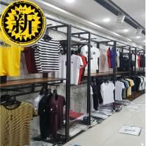 Clothing display rack It is 1.5m long, 40cm wide, 2.4m high, 1.2m long, 40cm wide, 2.4m high, 60cm long, 40cm wide, 2.4m high, 1.2m wide, 40cm high, 2.4m high, 1.2m wide, 2.4m high, 1.2m * 40cm * 2.4m long, 1.2m * 40cm * 2m long clothing Metal Official standard 150x40x240cm