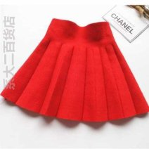 skirt The recommended height is 80-100cm | $for Size 110, below 110cm for Size 120. ~, 120cm for Size 130 '~, below 130cm for size 140 & amp;, below 140cm for size 150 ~%, and 140cm for size 160-` Other / other female Other 100% No season Miniskirt college Solid color Pleats