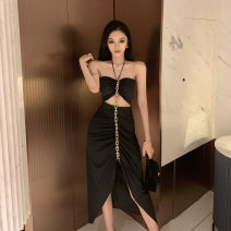 Fashion suit Summer 2021 S,M,L black 18-25 years old 81% (inclusive) - 90% (inclusive)