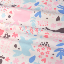 Fabric / fabric / handmade DIY fabric cotton Colored rabbit polyester cotton cloth Loose shear Others printing and dyeing clothing Europe and America 51% (inclusive) - 60% (inclusive)