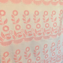 Fabric / fabric / handmade DIY fabric blending Off white Loose shear piece Plants and flowers jacquard weave clothing Europe and America