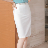 skirt Summer 2021 S M L XL 2XL 3XL 4XL 5XL One white skirt one black skirt one pink skirt Middle-skirt commute High waist Suit skirt Solid color Type A 30-34 years old 1096_ MWQ-68-1 71% (inclusive) - 80% (inclusive) Yimuzi polyester fiber Ol style Pure e-commerce (online only)