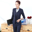 Professional pants suit S,M,L,XL,XXL,XXXL,4XL,5XL Winter 2020, autumn 2020 Shirt, coat Long sleeves trousers 25-35 years old polyester fiber