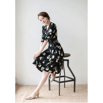 Dress Spring 2021 BK purchasing agent FREE Other / other (AM)LISIANTHUS MIDI WRAP DRESS
